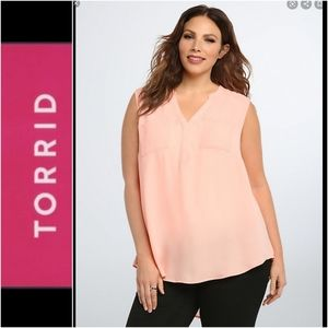 Torrid Sleeveless Top Size 4X